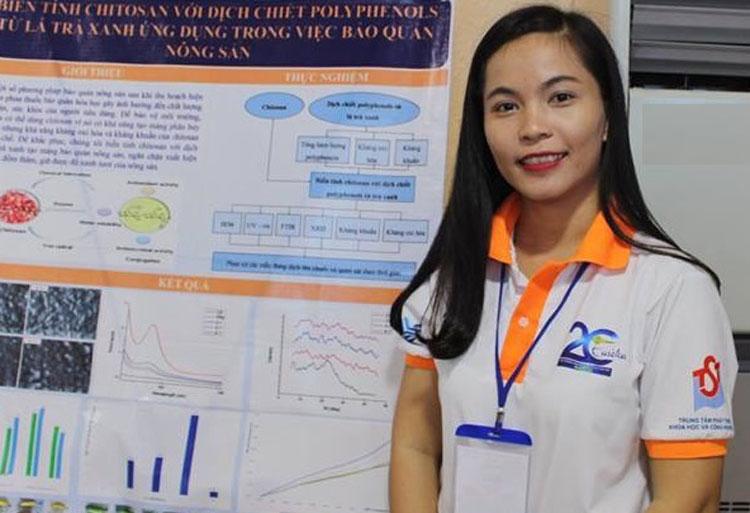 Bùi Thị Khánh Linh - tác giả dung dịch sinh học bảo quản nông sản.