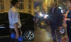 Tài xế ôtô dùng tạ Äánh nhau vá»i ngÆ°á»i Äi xe máy