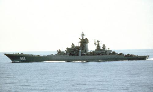 Chiến hạm Đô đốc Ushakov khi còn hoạt động. Ảnh: Topwar.