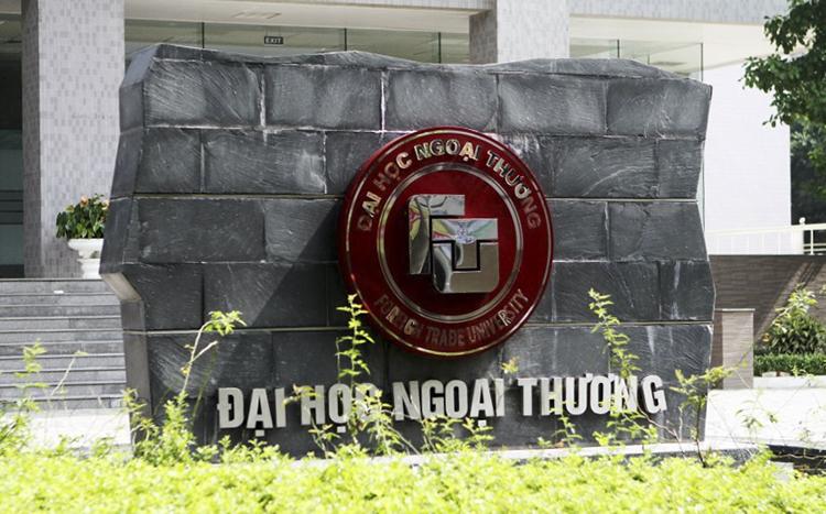 Đại học Ngoại thương cơ sở Hà Nội. Ảnh: FB/Hội Sinh viên Đại học Ngoại thương