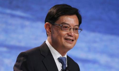 Bộ trưởng Tài chính Singapore Vương Thụy Kiệt. Ảnh: Reuters.