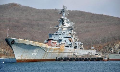 Tàu tuần dương Đô đốc Lazarev hồi năm 2015. Ảnh: Topwar.