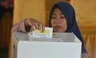Quy mô của cuộc bầu cử khiến nhân viên chết vì kiệt sức ở Indonesia