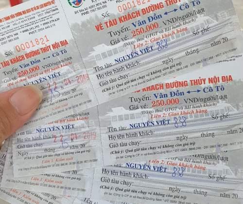 Giá vé tàu cao tốc tuyến Vân Đồn - Cô Tô tăng từ ngày 20/4. Ảnh: M.C