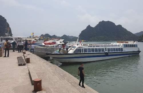Cảng Cái Rồng, Vân Đồn. Ảnh: M.C