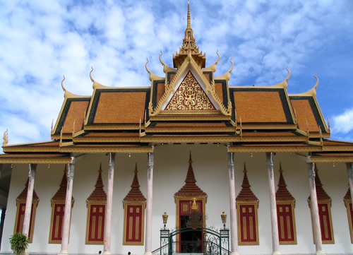 Chùa Bạc, công trình nổi tiếng ở Campuchia. Ảnh: Wikipedia