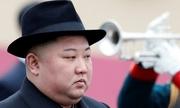Tàu chở Kim Jong-un dừng lệch thảm đỏ khi đến ga ở Nga