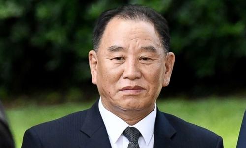 Kim Yong-chol tại Mỹ tháng 6/2018. Ảnh: AFP.