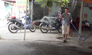 Người Sài Gòn tìm cách chống chọi nắng nóng