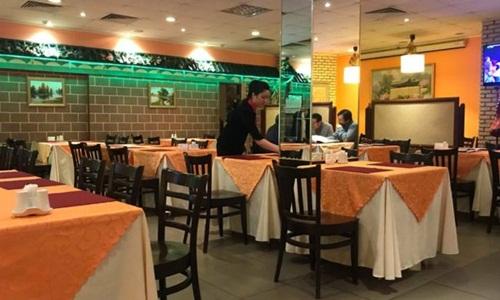 Bên trong nhà hàng Triều Tiên Koryo ở thủ đô Moskva, Nga. Ảnh: BBC.