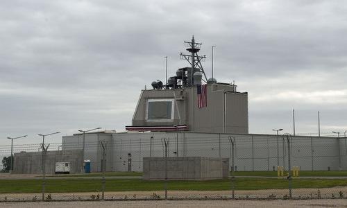 Hệ thống Aegis Ashore Mỹ đặt tại Romania hồi cuối năm 2016. Ảnh: Lầu Năm Góc.