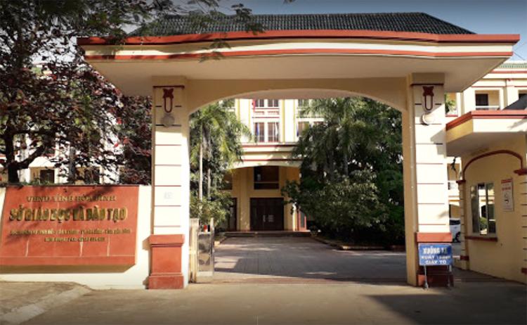 Trụ sở Sở Giáo dục và Đào tạo Hòa Bình, nơi có nhiều cán bộ bị khởi tố do nâng điểm cho thí sinh trong kỳ thi THPT quốc gia 2018.