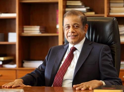 Bộ trưởng Quốc phòng Sri Lanka Hemasiri Fernando. Ảnh: Colombo Telegraph.