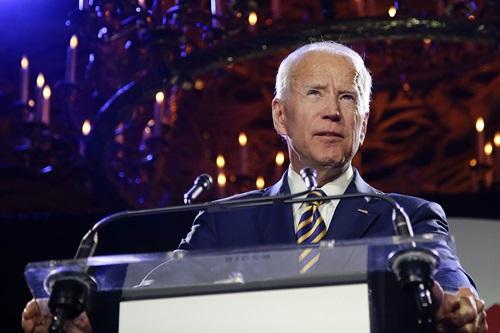 Cựu phó tổng thống Mỹ Joe Biden. Ảnh: AP.