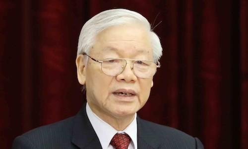 Bộ Ngoại giao nói về sức khỏe của Tổng bí thư