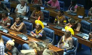 Hơn 150 tù trưởng Brazil dự phiên họp quốc hội đặc biệt