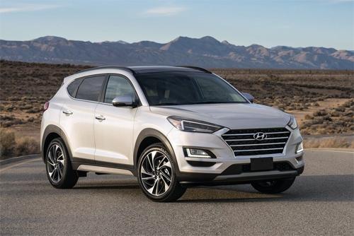 Hyundai Tucson phiên bản nâng cấp.