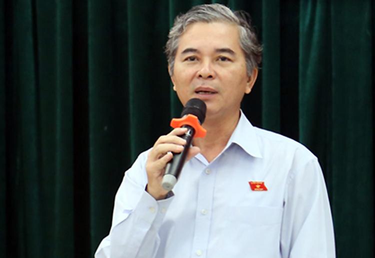 Thiếu tướng Ngô Minh Châu trong buổi làm việc giữa năm 2018. Ảnh: Hữu Công.