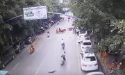 Người phụ nữ Trung Quốc ngã xe vì bị ngỗng 10 kg rơi trúng