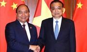 Thủ tướng Nguyễn Xuân Phúc hội kiến Thủ tướng Trung Quốc Lý Khắc Cường