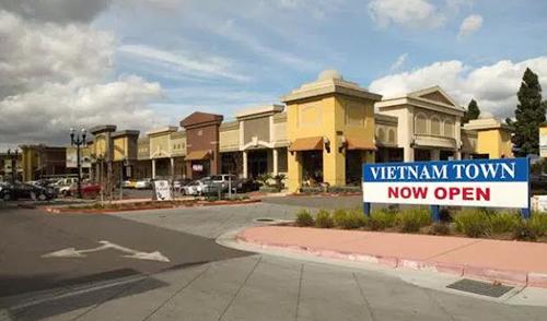 Trung tâm thương mại Vietnam Town, thành phố San Jose, bang California. Ảnh: San Jose Blog