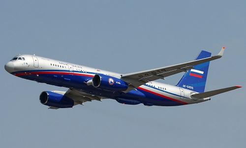 Một chiếc Tu-214ON của Nga. Ảnh: Airliners.