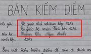 Khi học sinh chuyên Văn viết bản kiểm điểm vì đi học muộn