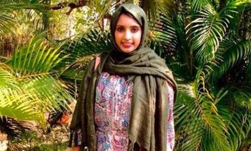 Amara Majeed, một nhà hoạt động Hồi giáo ở Mỹ. Ảnh: Facebook.