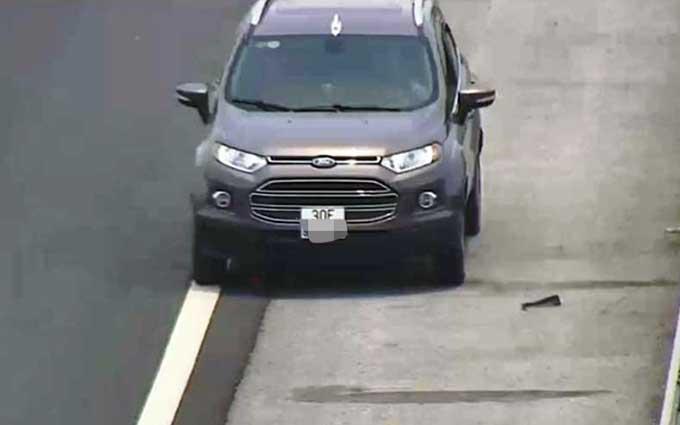 Nam tài xế 34 tuổi lái ô tô đi ngược chiều trên cao tốc Hà Nội-Hải Phòng. Ảnh: Ban quản lý cao tốc Hà Nội-Hải Phòng