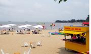 Bãi biển Đồ Sơn thưa khách những ngày đầu nghỉ lễ
