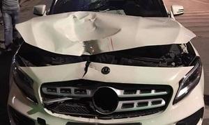Tài xế Mercedes tông chết hai người ở hầm Kim Liên rồi bỏ chạy