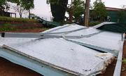 Lốc xoáy quét qua nhiều huyện ở Hà Tĩnh