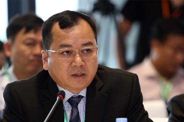 Ông Trần Đình Luân, Phó tổng cục trưởng Tổng Cục Thuỷ sản.