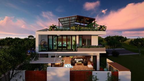 Villa Sunny là dự án Huỳnh thiết kế cho khách hàng tại Phan Thiết.