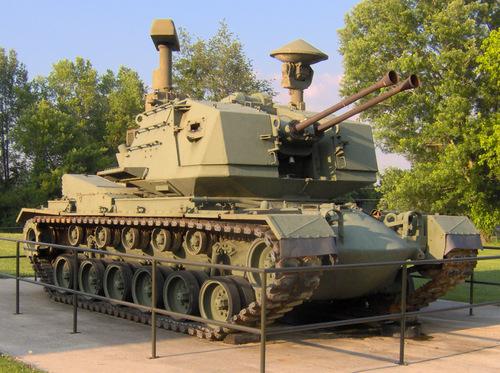 Xe chiến đấu M247 trong bảo tàng. Ảnh: Wikipedia.