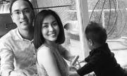 Con trai Tăng Thanh Hà không cho bố ôm mẹ khi ngủ