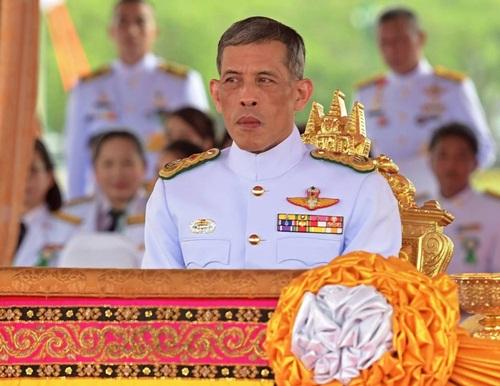 Quốc vương Thái Lan Maha Vajiralongkorn. Ảnh: AFP.