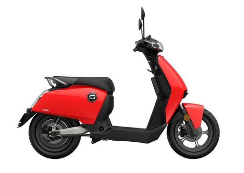 Super Soco CUx có kiểu dáng nhỏ gọn, với động cơ điện có công suất 3,75 mã lực.