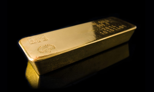 Một thỏi vàng nặng khoảng 12,5 kg. Ảnh: strategicgold.