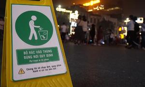 Trang bị camera cho công nhân môi trường ghi hình người xả rác
