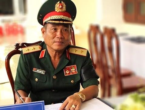 Trung tướng Nguyễn Hoàng Thủy, Tư lệnh Quân khu 9. Ảnh: PLO