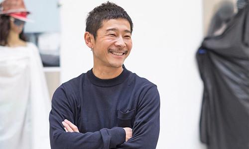Tỷ phú Nhật BảnYusaku Maezawa. Ảnh: Straits Times