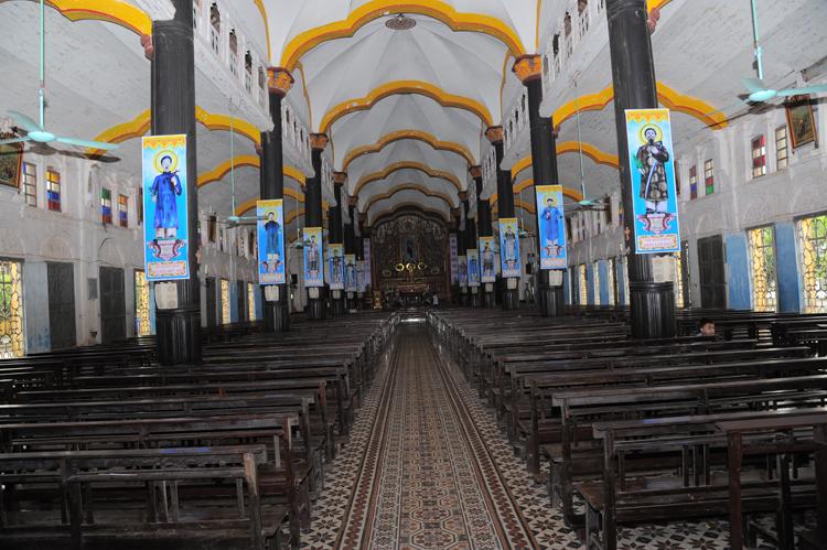 Cục Di sản đề nghị kiểm tra việc xây lại nhà thờ Bùi Chu 135 tuổi