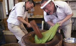 Tiệm làm bánh mochi nhanh nhất thế giới