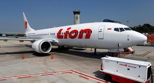 Một máy bay Boeing 737 MAX của Lion Air. Ảnh: Reuters.