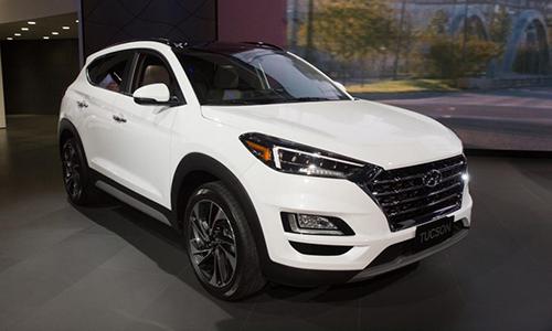 Hyundai Tucson 2019 thay đổi thiết kế ngoại thất. Ảnh: Aviationpast