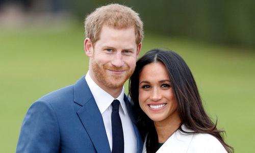 Vợ chồng Hoàng tử Anh Harry hồi cuối năm 2018. Ảnh: CNN.