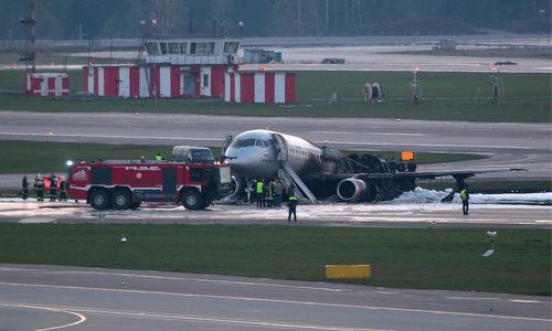 Lời kể của cơ trưởng trong vụ máy bay Nga bốc cháy