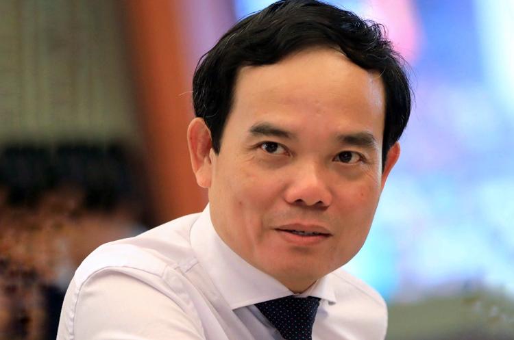 Phó bí thư Thành ủy TP HCM Trần Lưu Quang trong buổi làm việc hồi tháng 3. Ảnh: Hữu Khoa.