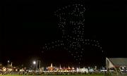 300 UAV trình diễn ánh sáng mừng Quốc vương Thái Lan đăng quang
